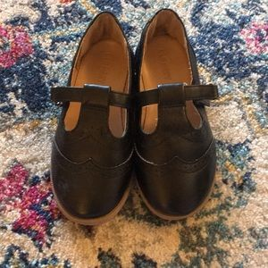 Old navy black oxfords shoes